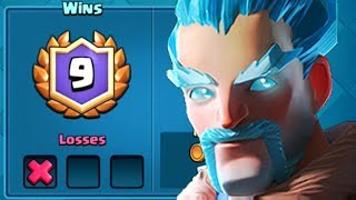 Download ICE WIZARD GETS WINS | Clash Royale | Grand Challenge w/ Ice Wizard Video