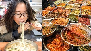Download KOREAN STREET FOOD at Mangwon Market in Seoul Video