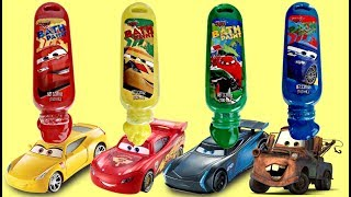 Download CARS 3 Bath Paint with Lightning Mcqueen, Cruz Jackson Blaze Toys Video
