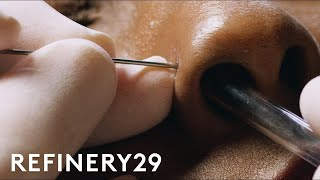 Download How To Get A Nose Piercing With Brian Keith Thompson Of Body Electric | Macro Beauty | Refinery29 Video