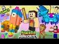 Download 5 PINATA GAMES w/ Baby Shawn! Minecraft Mini-Game w/ Warriors & Hunters (FGTEEV CINCO DE MAYO FUN!) Video