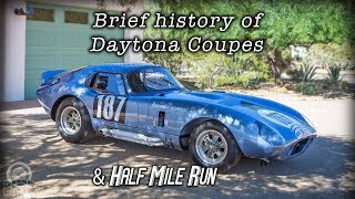 Download Daytona Coupe History and Standing Half a Mile Run of CSX2300 Aluminum Replica Video
