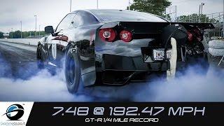 Download INSANE Drag RACE !! World's Fastest R35 GT-R ALPHA OMEGA Video