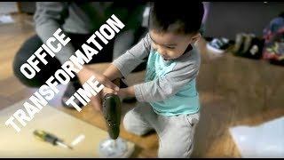 Download Home Office Transformation | Family Vlog | April's Beautiful Mess Video