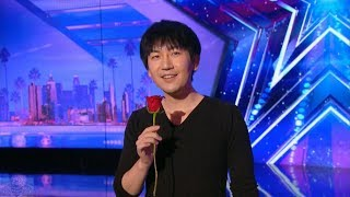 Download America's Got Talent 2017 Visualist Will Tsai Unbelievable Sleight of Hand Full Audition S12E01 Video