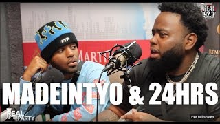 Download MadeinTYO & 24HRS talk about brotherhood together and freshman cover! Video