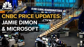 Download CNBC price updates: Jamie Dimon, markets and Microsoft's new initiative - (9/24/2018) Video
