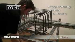 Download Jiggelo Prefab Assembly Table for Rebar Cages Video
