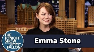 Download Emma Stone Gets Surprised with a Song from Her First Musical Video