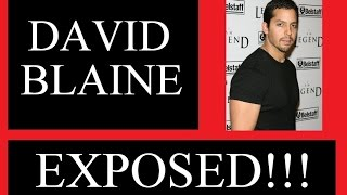 Download DAVID BLAINE EXPOSED!!! ANTICHRIST!!! SORCERY!! Video