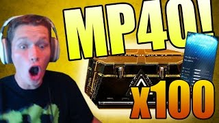 Download WE FINALLY GOT THE MP40!! (Advanced Warfare 100x Supply Drop Opening Gameplay) Video