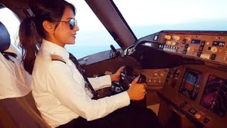 Download Female Pilot of AIR INDIA   Boeing 777 Video