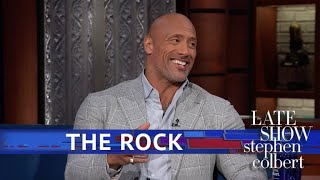 Download Dwayne Johnson And Stephen Drink Tequila, Compare Eyebrows Video