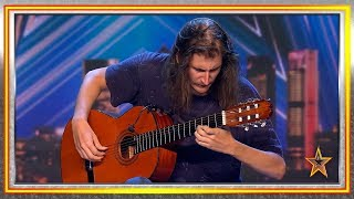 Download La sensibilidad de este guitarrista hace llorar al jurado | Audiciones 2 | Got Talent España 2019 Video