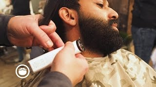 Download Beard Trim Shaped like Carlos Costa's   Cut and Grind Video