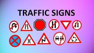 Download LEARN TRAFFIC SIGNS | ROAD SIGNS WITH MEANINGS FOR KIDS AND ALL Video