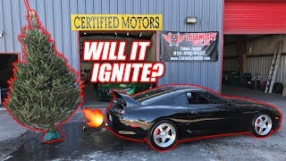 Download 1000hp Supra Anti-Lag vs. Dried Up Christmas Tree! Video