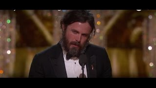 Download Casey Affleck wins Best Actor Video