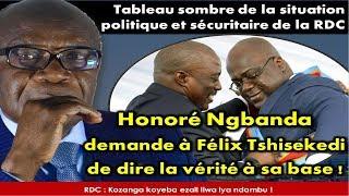 Download [DIRECT] Honoré Ngbanda demande à Félix Tshisekedi de dire la vérité à sa base Video