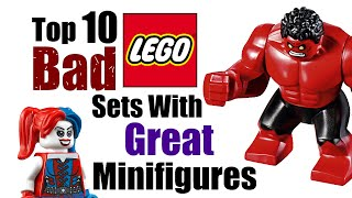 Download Top 10 Bad LEGO Sets With Great Minifigures! Video