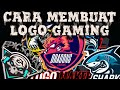 TUTORIAL CARA MEMBUAT LOGO GAMING / SQUAD