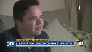 Download Survivor talks life after Columbine shooting 20 years later Video