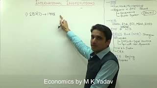 Download (1/3)World Bank(IBRD,IDA, MIGA, IFC, ICSID), IMF, Difference between WB & IMF Explained by M K Yadav Video