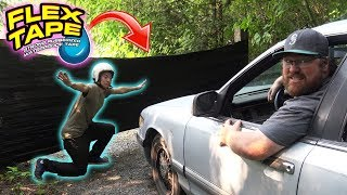 Download Can FLEX TAPE Stop a CAR? Video