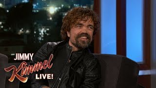 Download Peter Dinklage on Game of Thrones Fans & Emmy Win Video