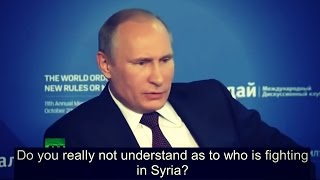 Download Putin Tells Everyone Exactly Who Created ISIS Video