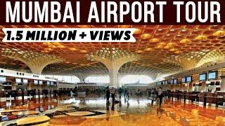 Download Mumbai International Airport (Chhatrapati Shivaji Maharaj) Terminal 2 Departure Tour - Prakhar Sahay Video
