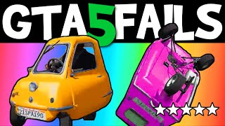 Download GTA 5 FAILS – EP. 22 (GTA 5 Funny moments compilation online Grand theft Auto V Gameplay) Video