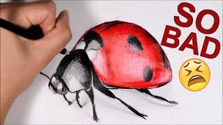 Download DRAWING ONLY USING SUPPLIES I HATE! Video