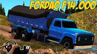 Download FORD F14.000 - INDO CARREGAR PEDRAS - BR 116 - EURO TRUCK SIMULATOR 2 Video