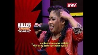Download Awalnya sih takut, tapi Bu Hani berhasil melewati tantangannya! - Killer Karaoke Indonesia Video