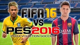 Download FIFA 16 vs PES 2016 | E3 Trailer Gameplay Video