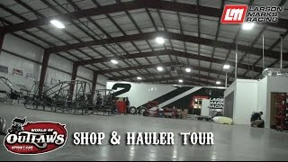 Download Larson Marks Racing: Shop & Hauler Tour Video