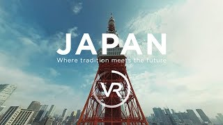 Download [360°VR] JAPAN - Where tradition meets the future Video