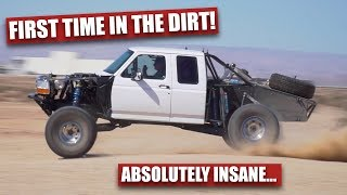 Download TESTING The F150 PRERUNNER In Plaster City! Video