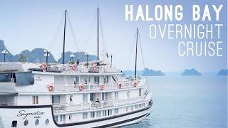 Download Overnight Cruise in Ha Long Bay, Vietnam Video