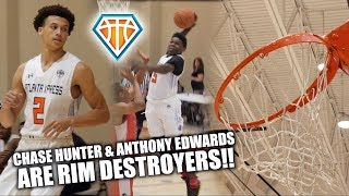 Download Anthony Edwards & Chase Hunter ARE RIM DESTROYERS!! *NOT CLICKBAIT* 😂 | Xpress vs MATTS Highlights Video