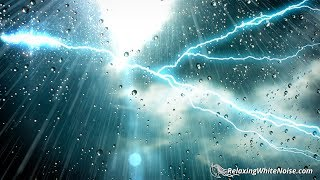 Download Thunder and Rain Sleep Sounds White Noise | Fall Asleep & Stay Sleeping with Nature Audio | 10 Hours Video