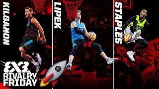 Download Kilganon vs. Lipek vs. Staples - Who is the Best Dunker on the Planet? | FIBA 3x3 Rivalry Friday Video