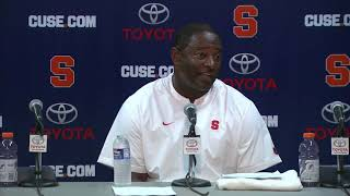 Download Dino Babers vs Florida State Postgame Video