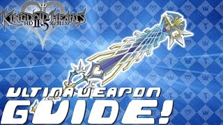 Download Kingdom Hearts HD 2.5 ReMIX - COMPLETE GUIDE: Ultima Weapon / Item Synthesis / FM Materials (KH2 FM) Video