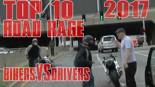 Download TOP 10 Motorcycle ROAD RAGE In America Compilation 2017 Biker VS Driver ANGRY People STUPID Drivers Video