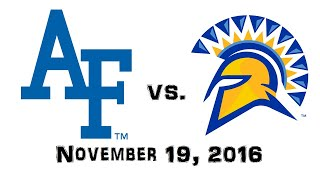 Download November 19, 2016 - Air Force Falcons vs. San Jose State Spartans Full Football Game 60fps Video