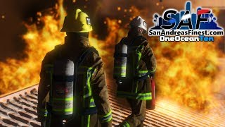 Download SA'F #182 - Structure Fire! | GTA V RP Video