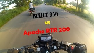 Download Royal Enfield Classic 350 vs TVS Apache RTR 200 4v | Dangerous Street Race | Episode 4 | Video
