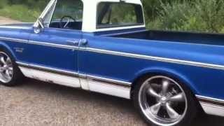 Download 1970 chevy C10 Barn find with 2009 ls 5.3 auto Video